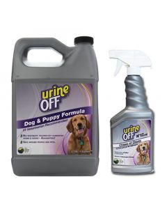 Urine Off pour chien pour les odeurs d'urine
