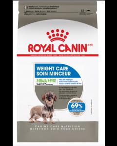 Nourriture pour X-petit chiens soin minceur Royal Canin