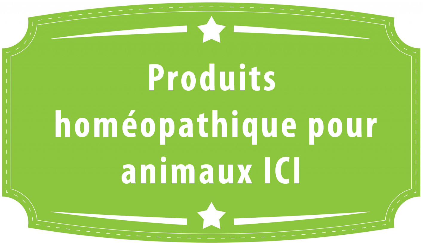 homeopathie pour animaux