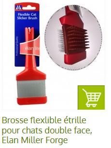 brosse flexible pour chien
