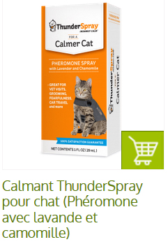 thunderspay pour calmer chat