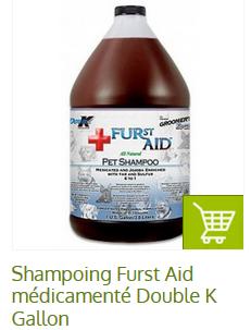 shampoing peau fragile chien